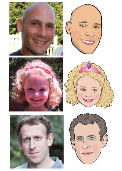custom cartoons from photo