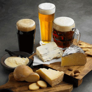 craft beer & artisinal cheese tasting