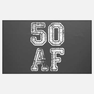 50 AF banner