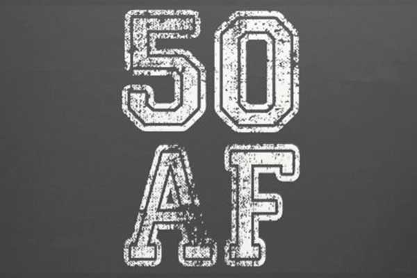 50 AF party theme