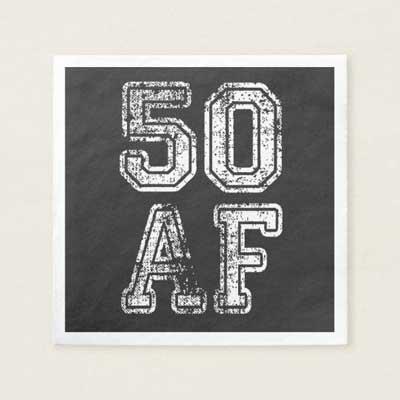 50 AF napkins