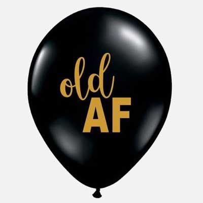old AF balloons