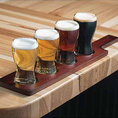Beer flight set