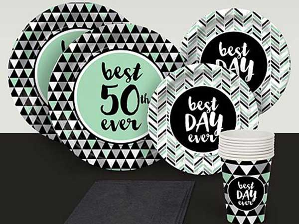 Best Day Ever 50th birthday party supplies