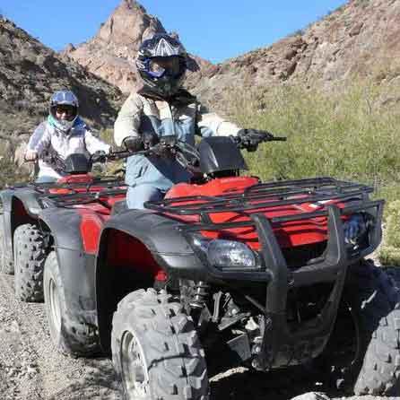 ATV quad bike adventures