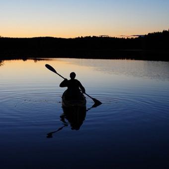 Midnight Canoe Trip
