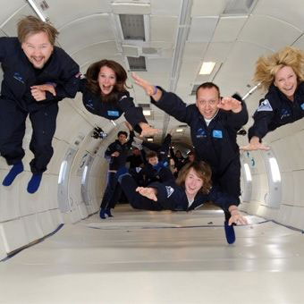 Zero Gravity Flight Experience