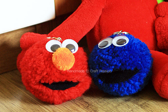 Elmo birthday party ideas by a professional party planner elmo pom poms solutioingenieria Image collections