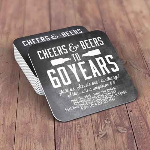 personalized drinks coasters milestone birthday