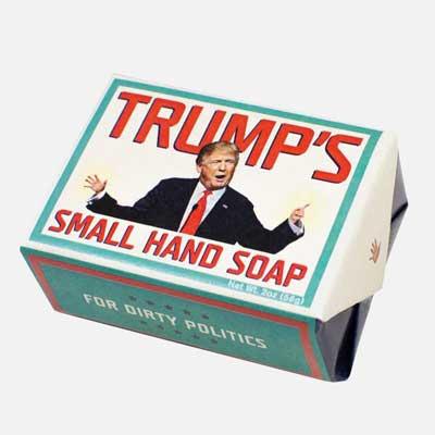 Trump's small hand soap