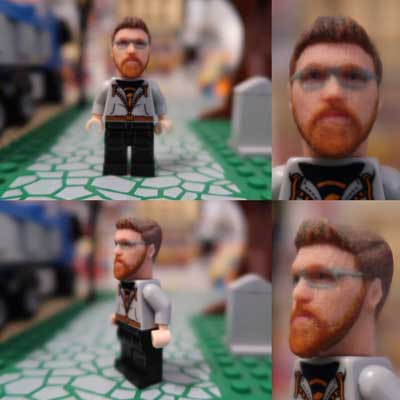 custom Lego-style mini figures