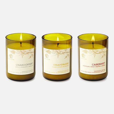 Wine Scented Candles