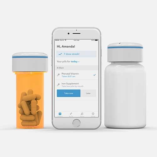 Smart-app connected Pill Bottle