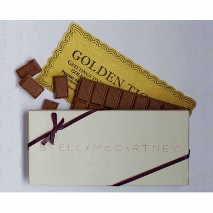 chocolate bar invitation