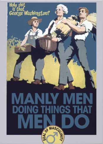 Manly Men Doing Things That Men Do invitation