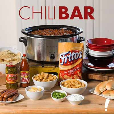 chili bar party food