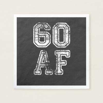 60 AF napkins