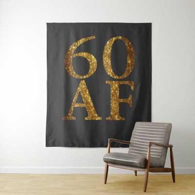 60 AF backdrop wall tapestry