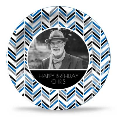 Best Day Ever 60th birthday custom party plates