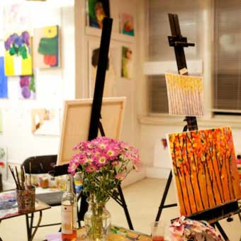 Painting & Wine Party with an Expert