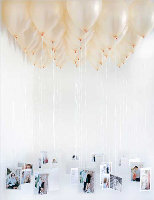 balloon chandelier