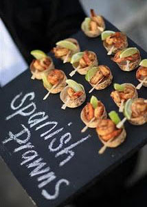 party food presentation ideas