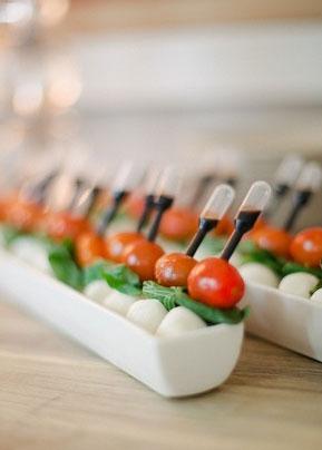 buffet table styling & presentation