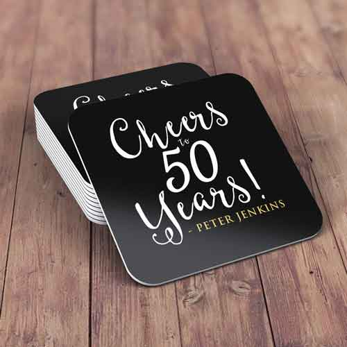 personalized drinks coasters birthday