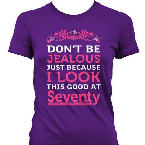70th birthday t shirt