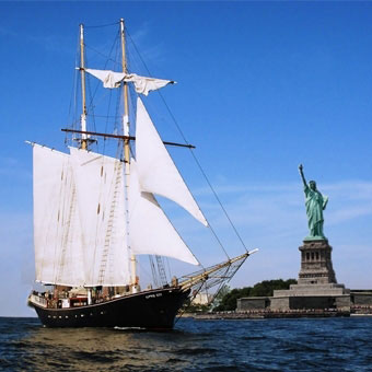 Tall Ship Sailing