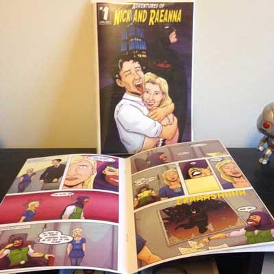 custom comic book