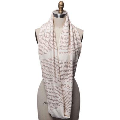 literary scarves