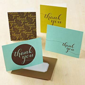 a year of gratitude thank you cards