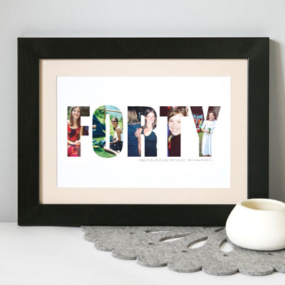 a life in pictures framed print