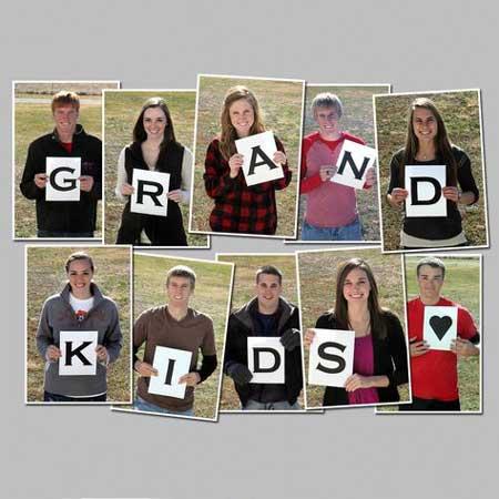grandkids photo collage