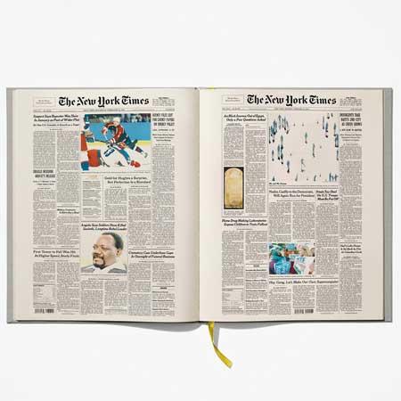 NY Times Birthday Book