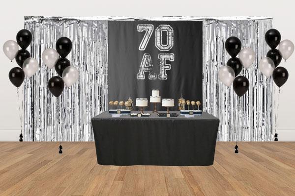 70 AF dessert table