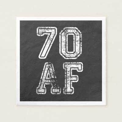 70 AF napkins