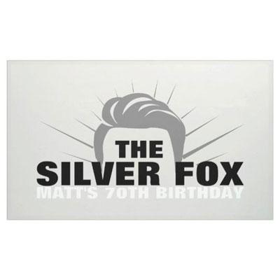The Silver Fox banner