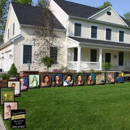 Through the years photo yard signs