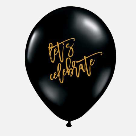 lets celebrate balloons