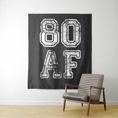 80 AF backdrop wall tapestry