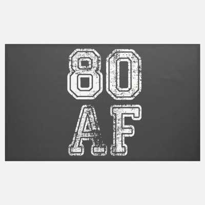 80 AF banner