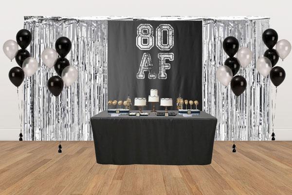 80 AF dessert table