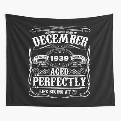Jack Daniels style vintage wall tapestry