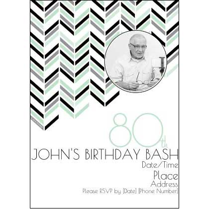 Best 80th Ever invitations