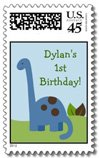 dinosaur postage stamps