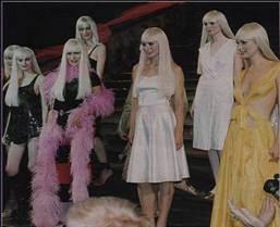 Barbie catwalk show