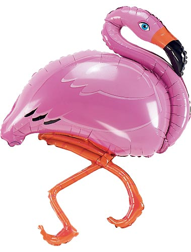 pink flamingo balloons