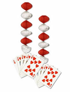play card decorations